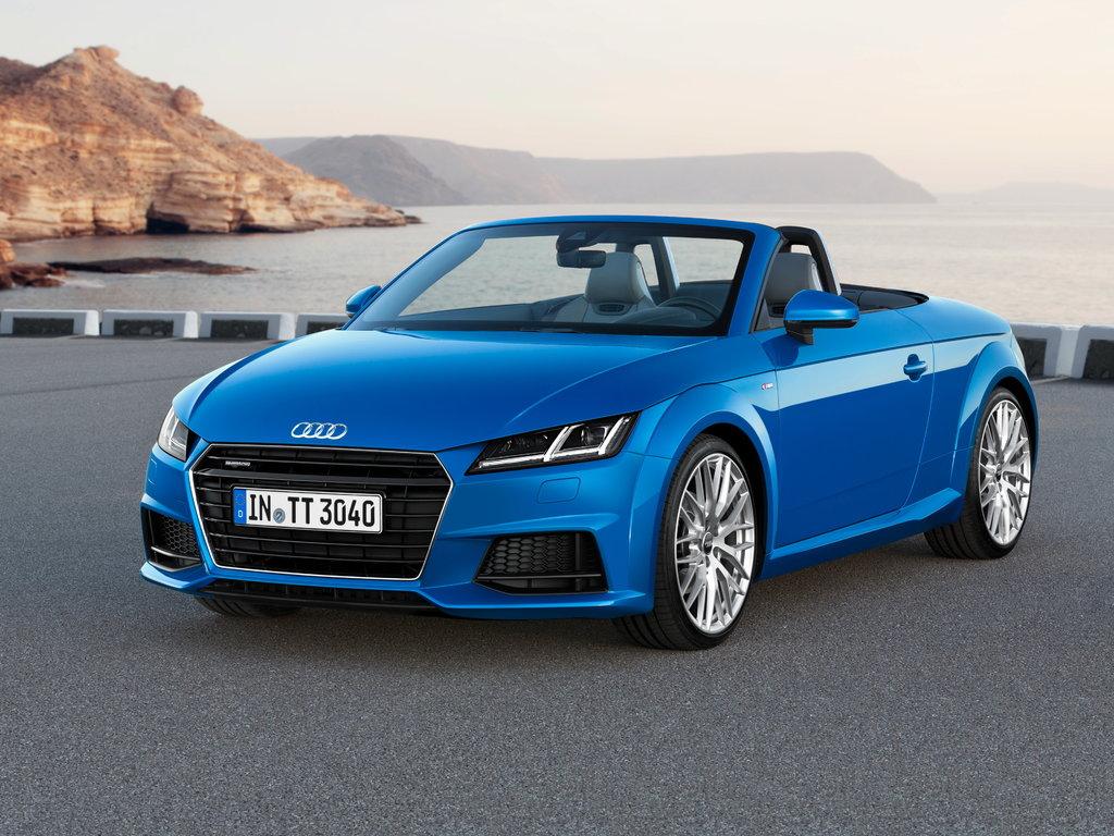 Audi TT 2014, открытый кузов, 3 поколение, 8S
