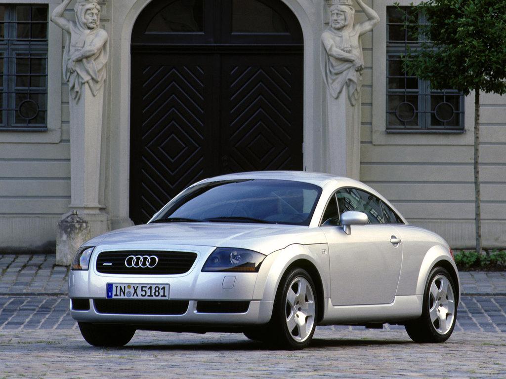 Audi TT 1998, купе, 1 поколение, 8N