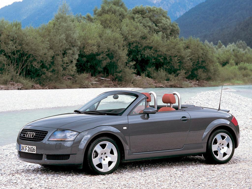 Audi TT 1998, открытый кузов, 1 поколение, 8N