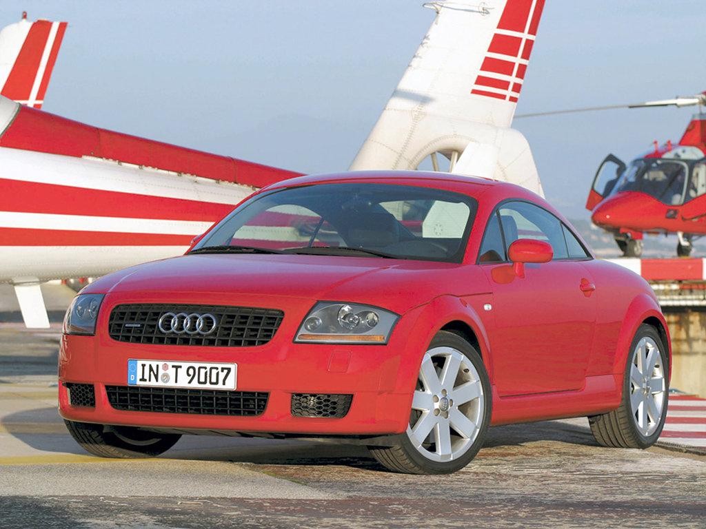 Audi TT рестайлинг 2003, купе, 1 поколение, 8N