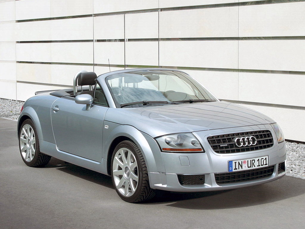 Audi TT рестайлинг 2003, открытый кузов, 1 поколение, 8N