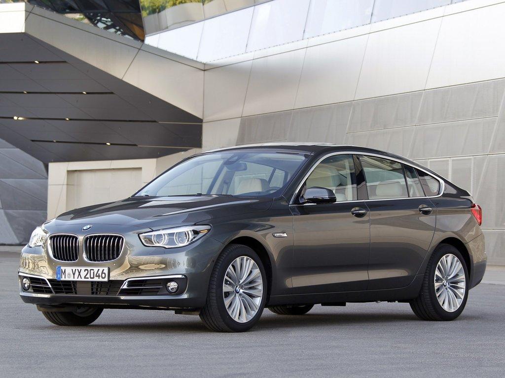BMW 5-Series Gran Turismo рестайлинг 2013, лифтбек, 6 поколение, F07