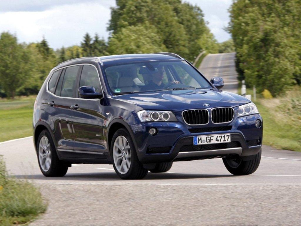 BMW X3 2010, джип/suv 5 дв., 2 поколение, F25