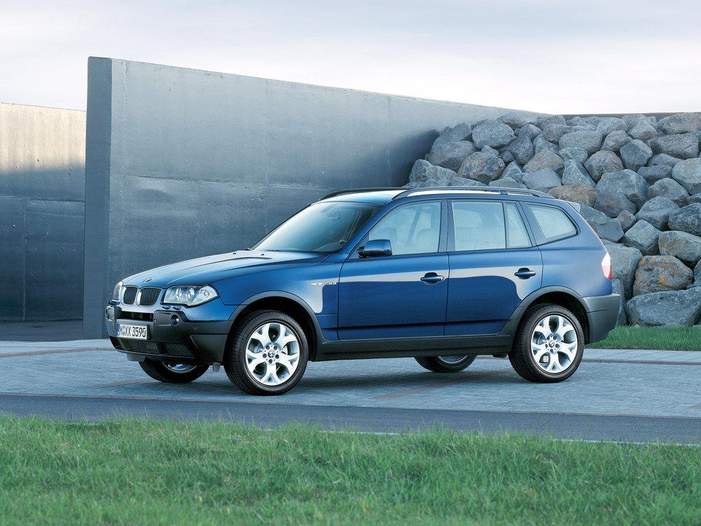 BMW X3 2003, джип/suv 5 дв., 1 поколение, E83