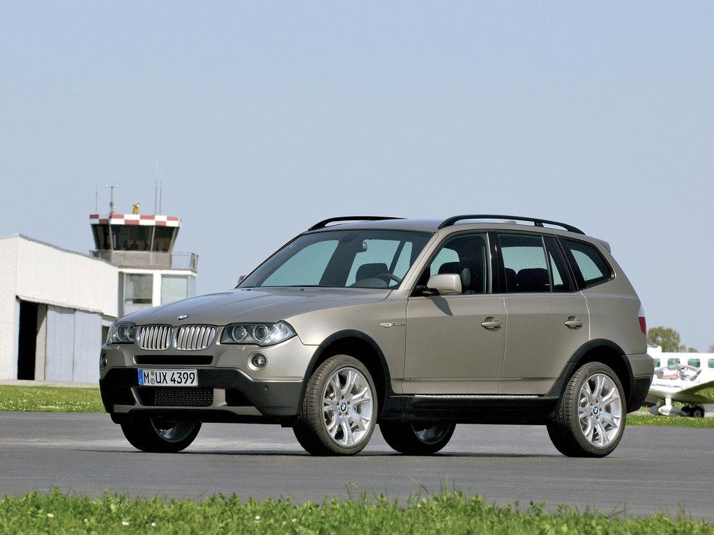 BMW X3 рестайлинг 2006, джип/suv 5 дв., 1 поколение, E83