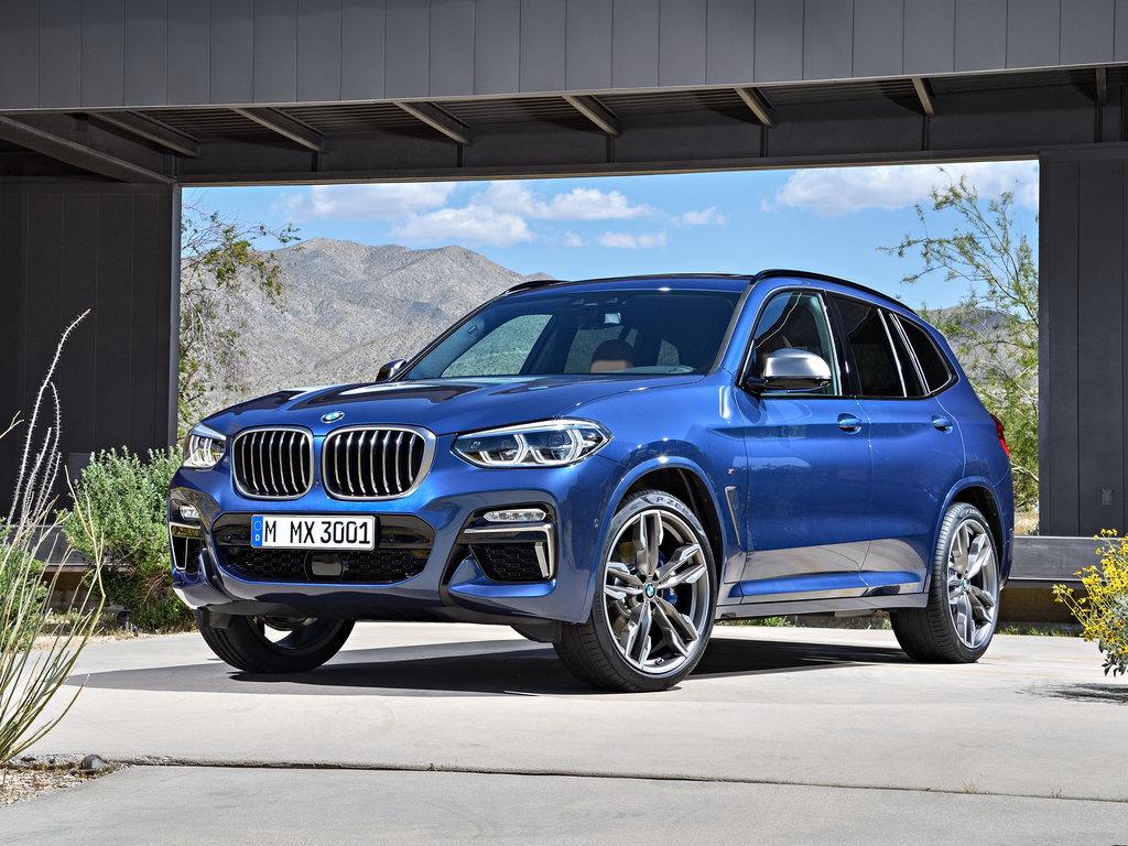 BMW X3 2017, джип/suv 5 дв., 3 поколение, G01
