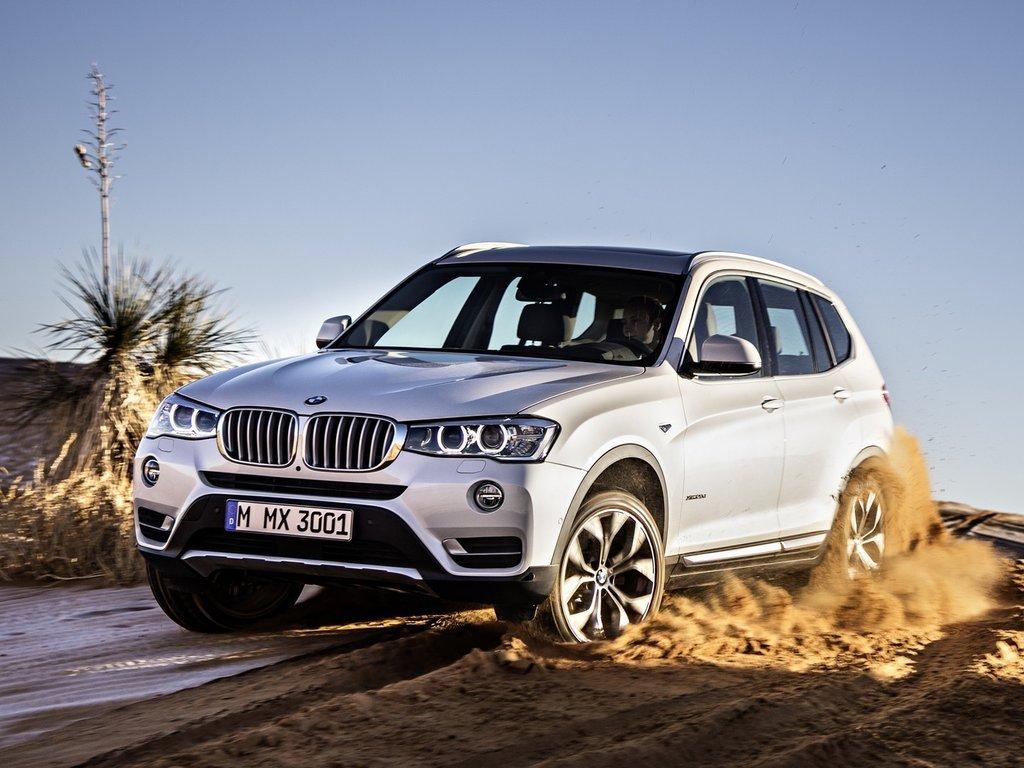 BMW X3 рестайлинг 2014, джип/suv 5 дв., 2 поколение, F25
