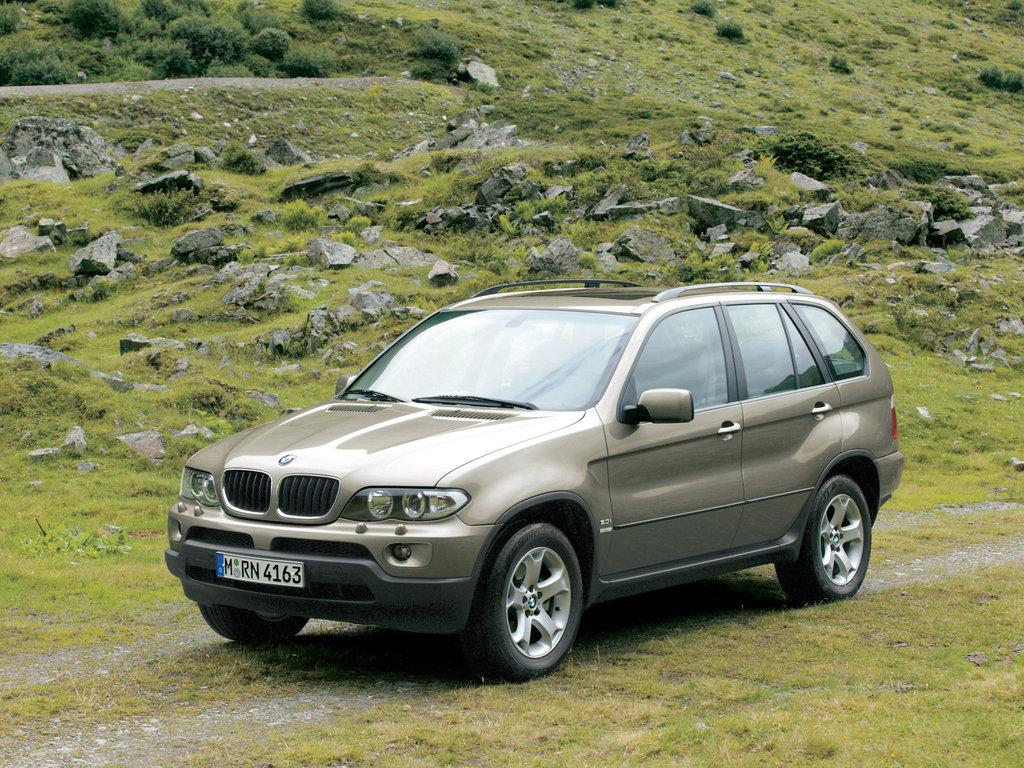 BMW X5 рестайлинг 2003, джип/suv 5 дв., 1 поколение, E53