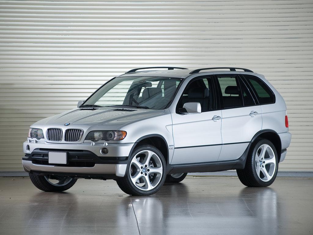 BMW X5 1999, джип/suv 5 дв., 1 поколение, E53