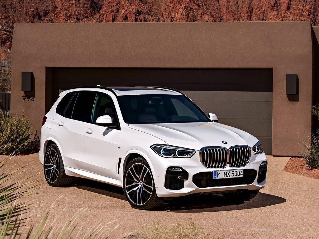 BMW X5 2018, джип/suv 5 дв., 4 поколение, G05