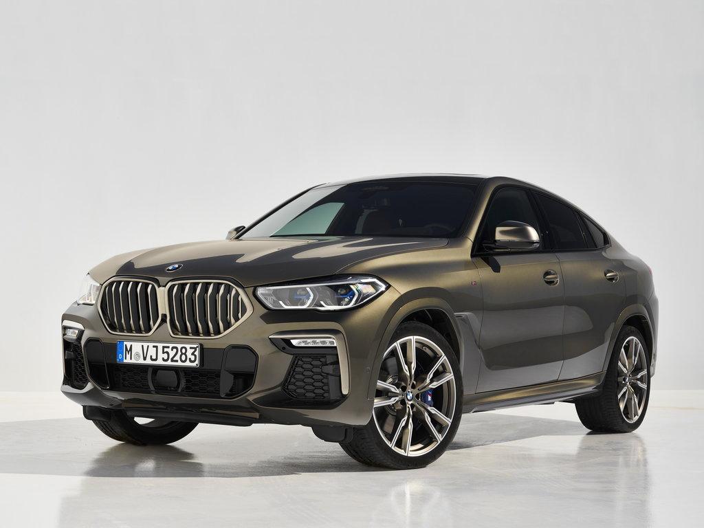BMW X6 2019, джип/suv 5 дв., 3 поколение, G06