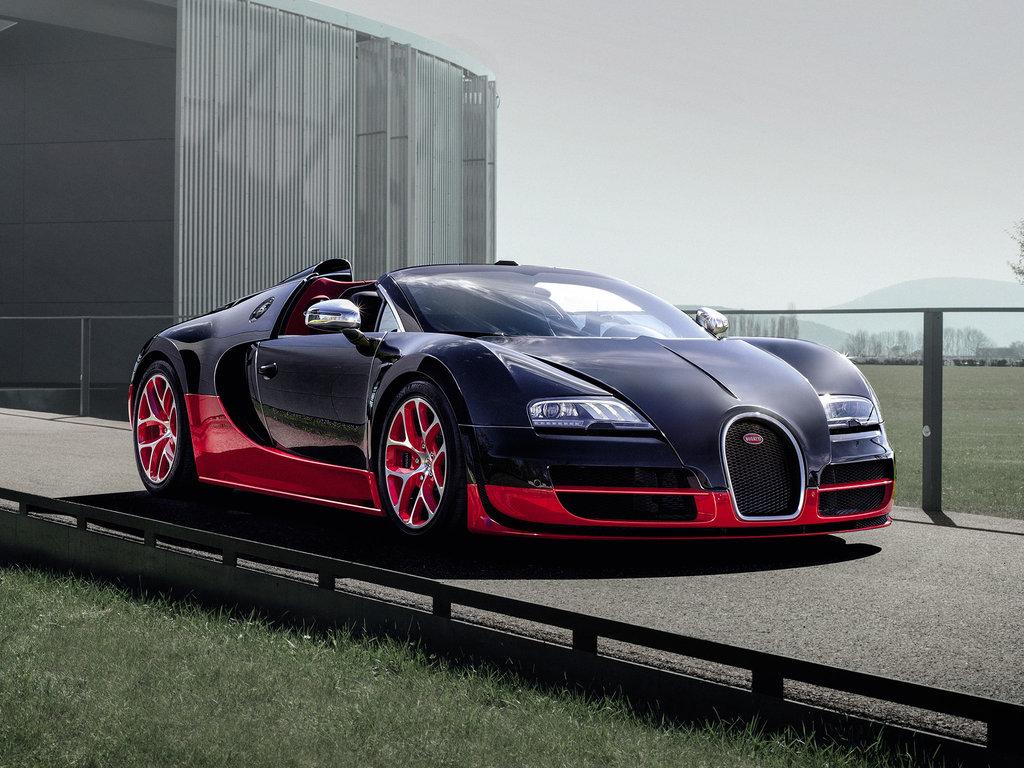 Bugatti Veyron рестайлинг 2012, открытый кузов, 1 поколение