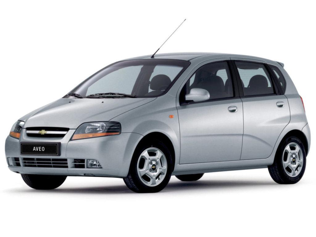 Chevrolet Aveo 2002, хэтчбек 5 дв., 1 поколение, T200