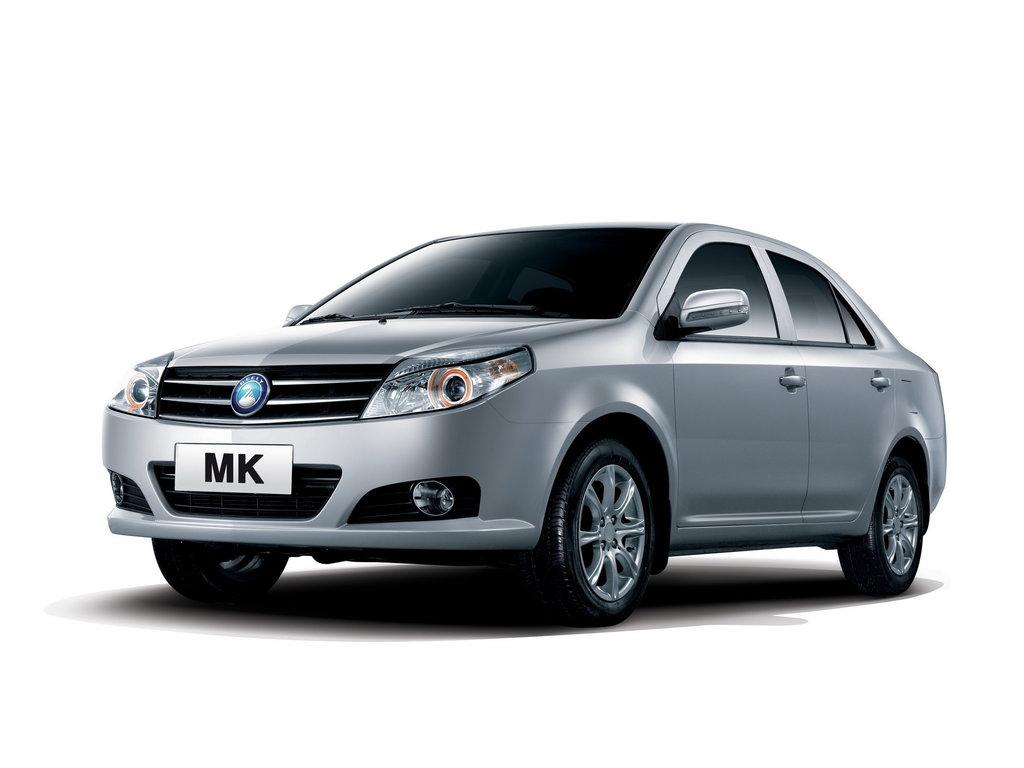 Geely MK рестайлинг 2009, седан, 1 поколение