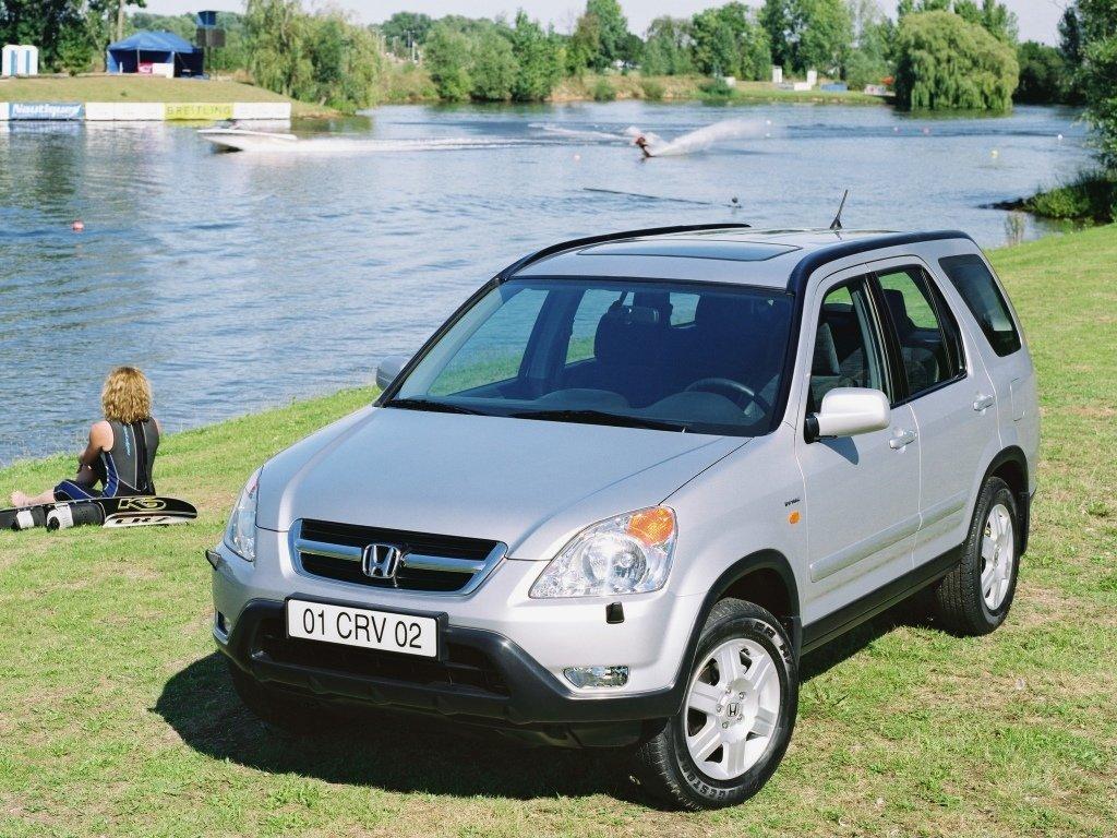 Honda CR-V 2001, джип/suv 5 дв., 2 поколение, RD