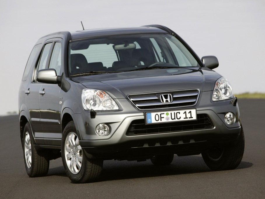 Honda CR-V рестайлинг 2004, джип/suv 5 дв., 2 поколение, RD