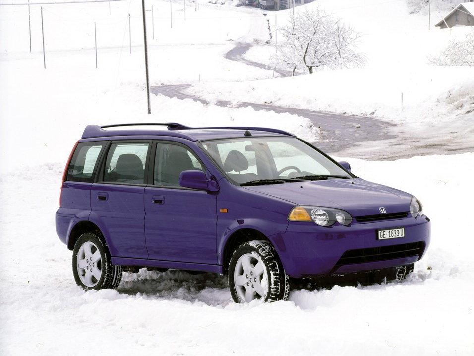 Honda HR-V 1999, джип/suv 5 дв., 1 поколение, GH