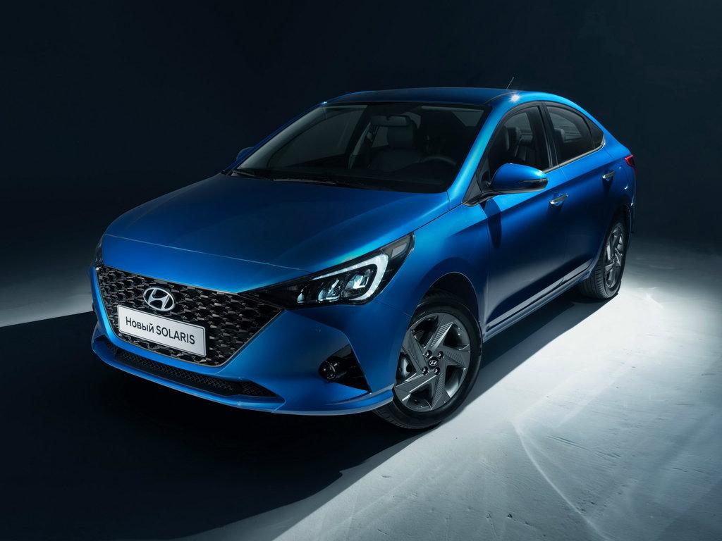 Hyundai Solaris рестайлинг 2020, седан, 2 поколение