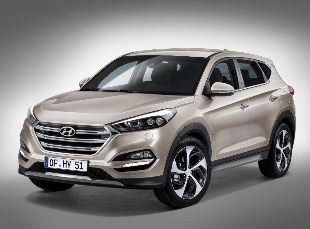 Hyundai Tucson 2015, джип/suv 5 дв., 3 поколение