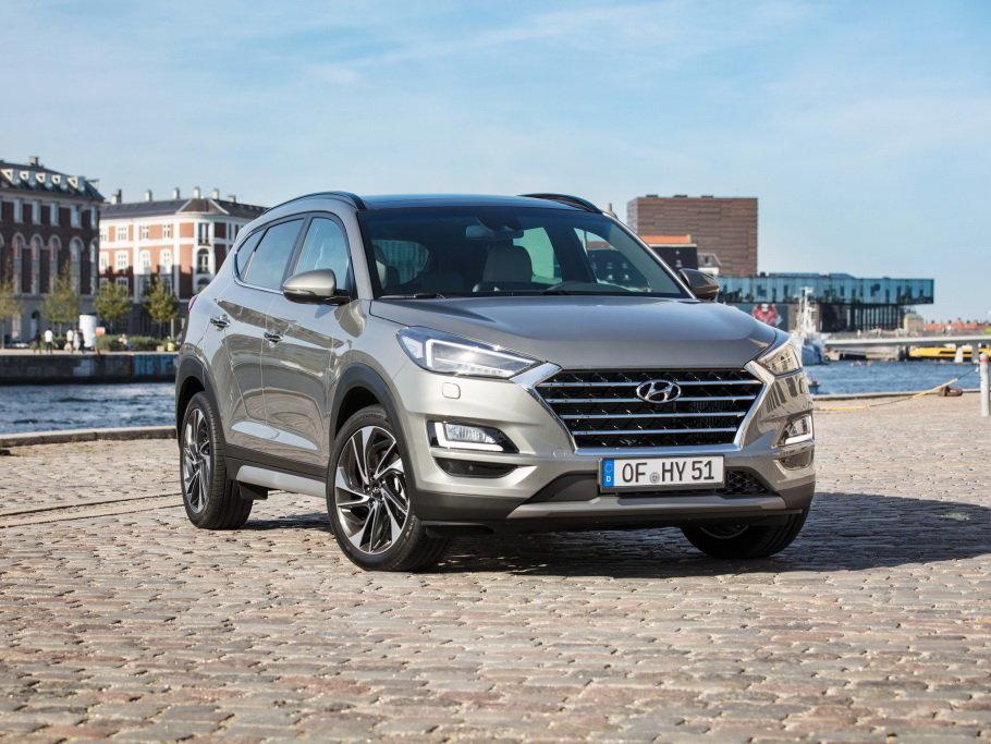 Hyundai Tucson рестайлинг 2018, джип/suv 5 дв., 3 поколение