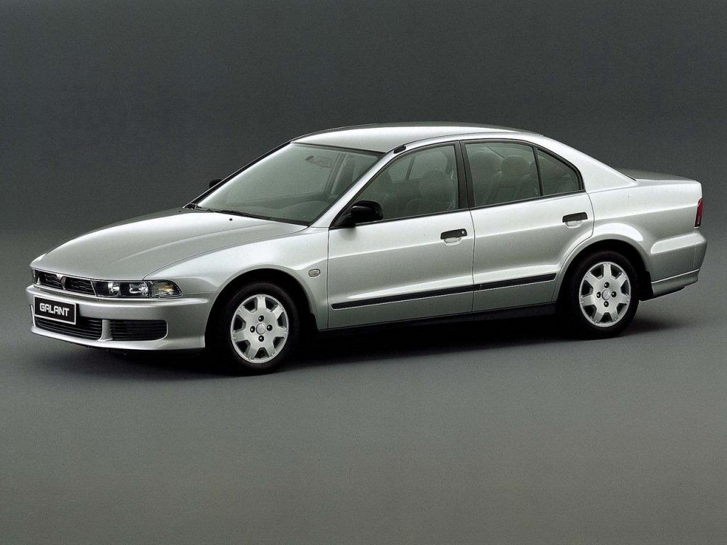 Mitsubishi Galant рестайлинг 1998, седан, 8 поколение