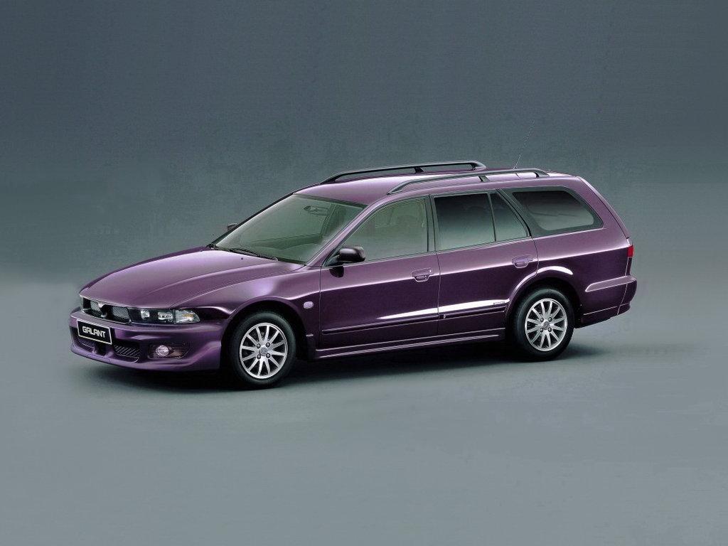 Mitsubishi Galant рестайлинг 1998, универсал, 8 поколение