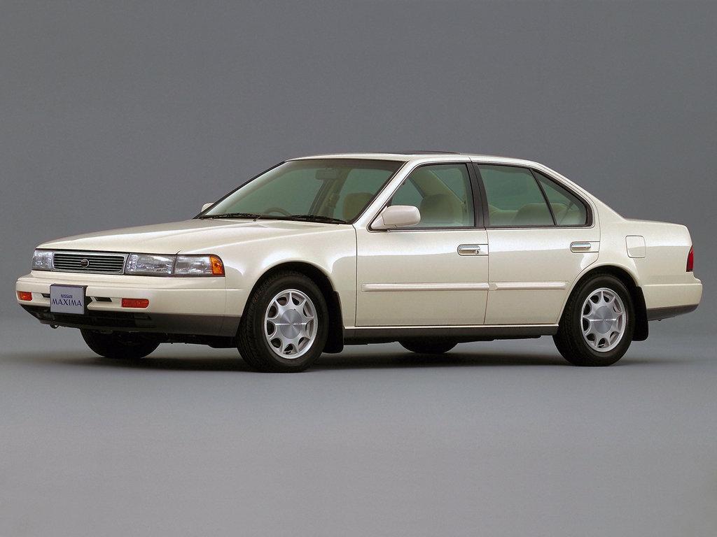 Nissan Maxima рестайлинг 1991, седан, 3 поколение, J30