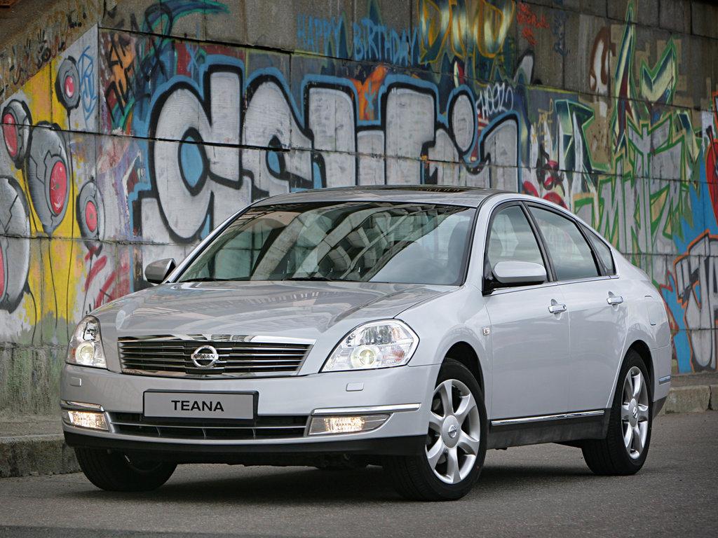 Nissan Teana рестайлинг 2005, седан, 1 поколение, J31