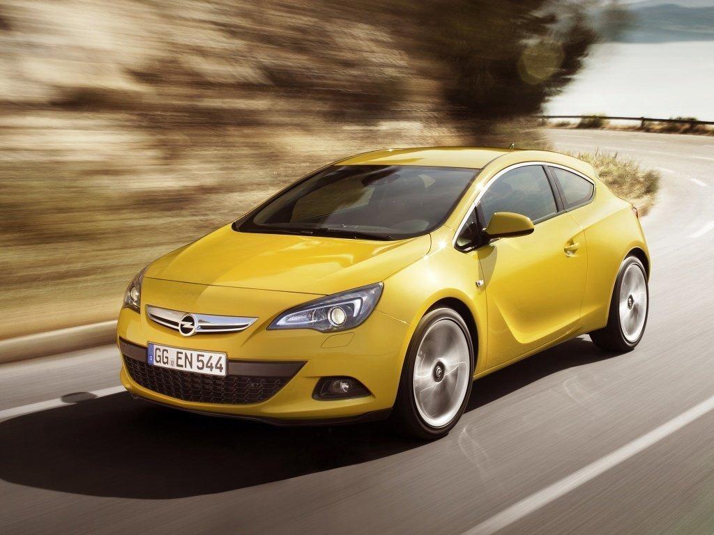 Opel Astra GTC 2009, хэтчбек 3 дв., 4 поколение, J