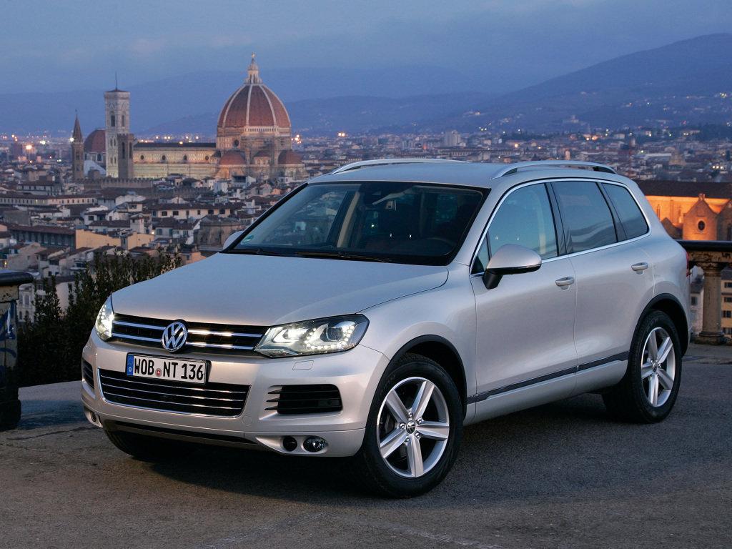 Volkswagen Touareg 2010, джип/suv 5 дв., 2 поколение, NF