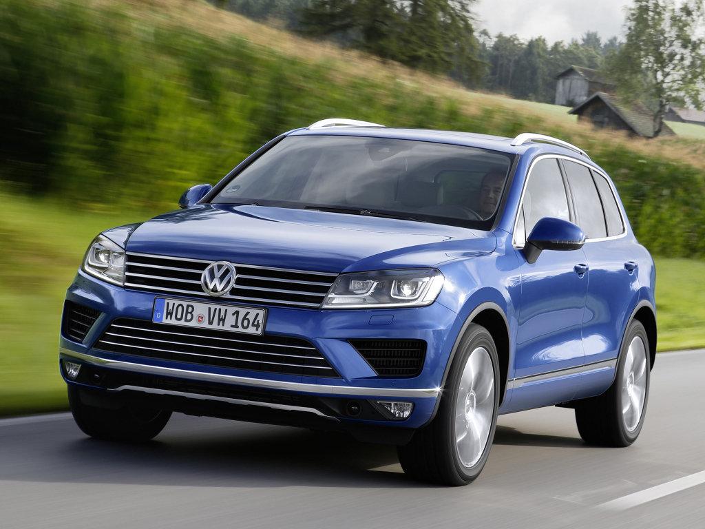 Volkswagen Touareg рестайлинг 2014, джип/suv 5 дв., 2 поколение, FL
