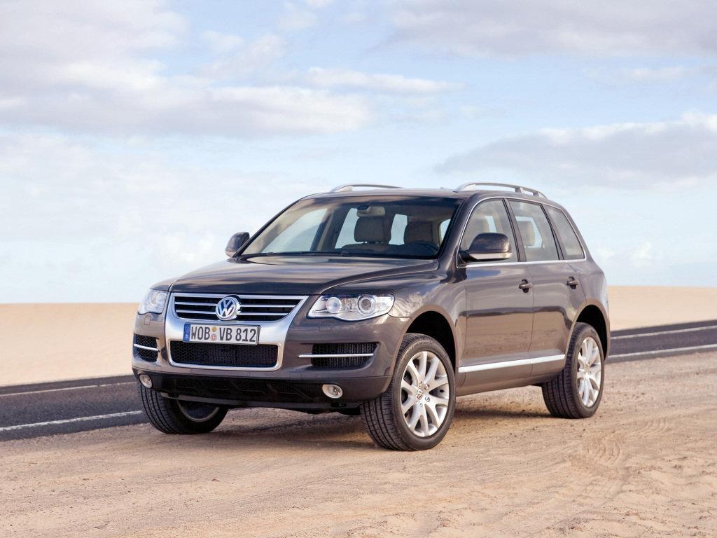 Volkswagen Touareg рестайлинг 2006, джип/suv 5 дв., 1 поколение, GP